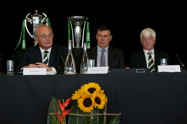 Martin O'Sullivan, Philip Browne and Tom Grace