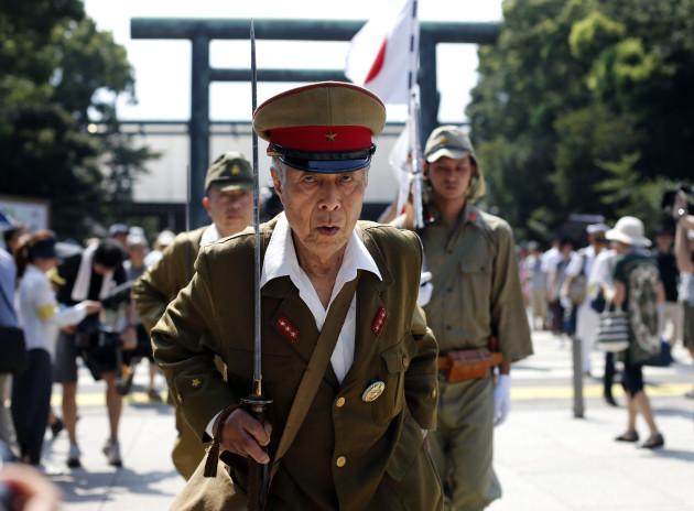 Japan War Anniversary