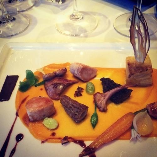 Roast Loin of Rabbit #bunnytastesgood #michelin #foodporn #foodart #game #potatodauphinoise