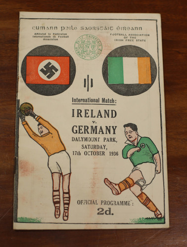 Here S The Story Behind That Ireland V Germany Swastika Match Programme