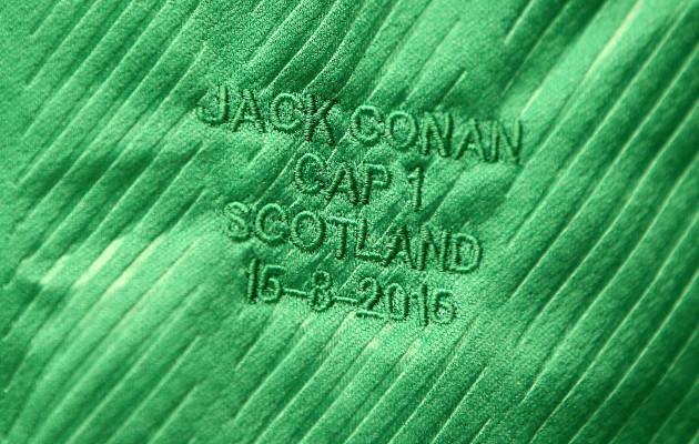 Jack Conan's jersey