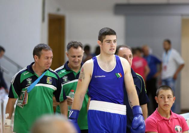 Joe Ward before the fight