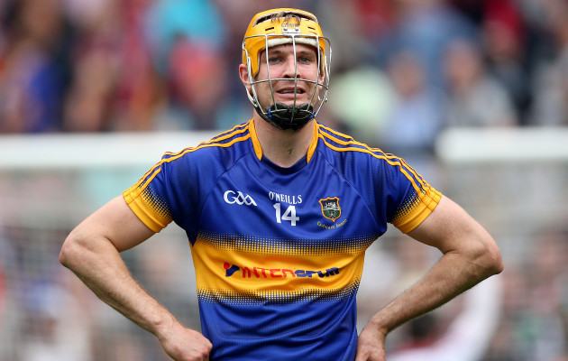 Seamus Callanan dejected after the game