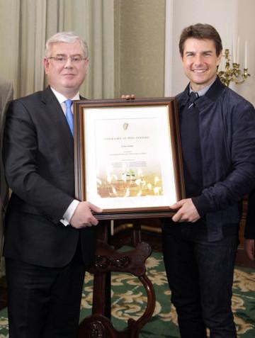 Tom Cruise Certificate of Iri
