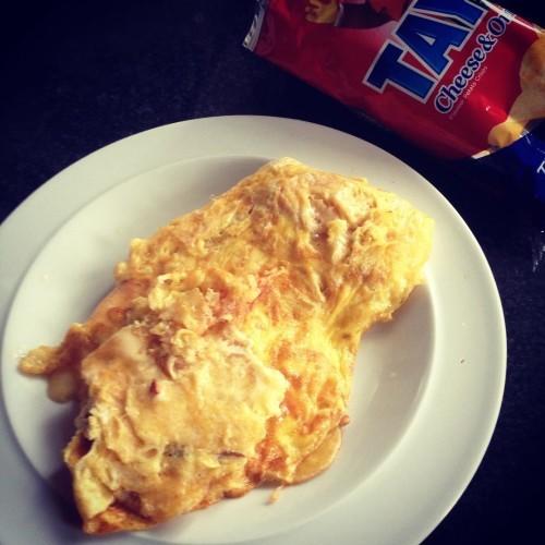 Favourite #tayto #crisp #omelette