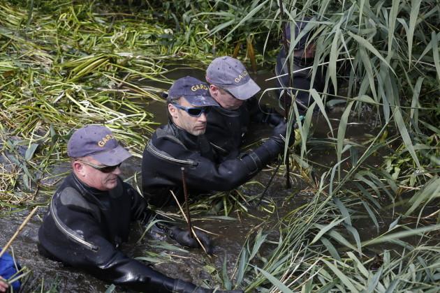 18/08/2015. Garda Search Operation Dundalk 18th Au