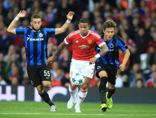 Soccer - UEFA Champions League - Qualifying - Play-off - Manchester United v Club Brugge - Old Trafford