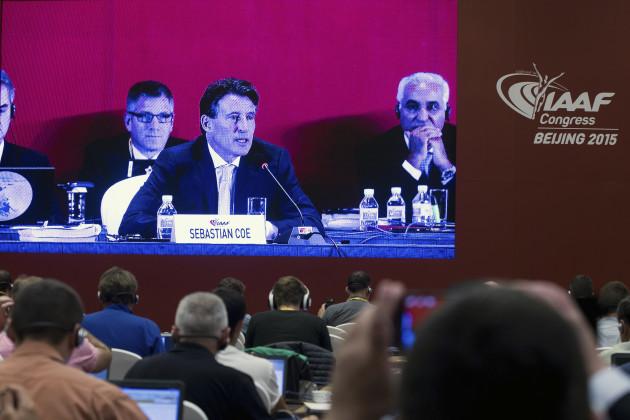 China IAAF Elections
