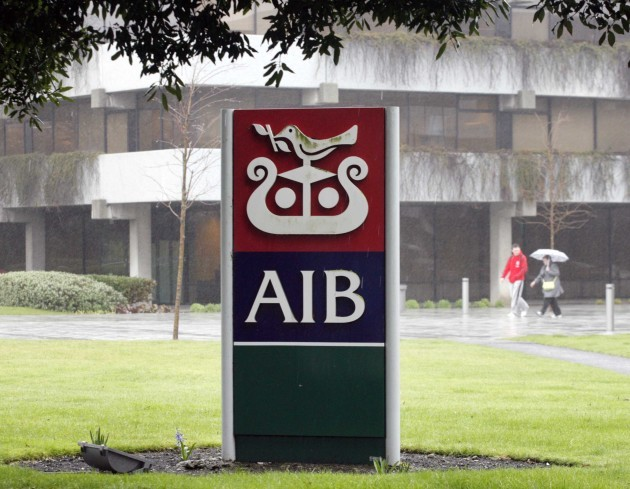 File photo: AIB is expected to announce that it will outsource certain IT and technology functions later this year. This could impact some 450 employees.