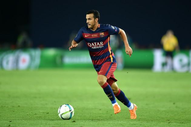 Soccer - UEFA Super Cup - Barcelona v Sevilla - Boris Paichadze Dinamo Arena