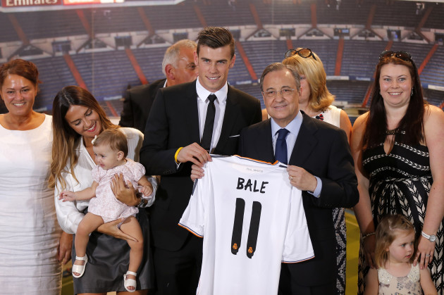 Spain Soccer Real Madrid Bale