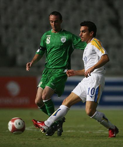 Soccer - UEFA European Championship 2008 Qualifying - Group D - Cyprus v Rep of Ireland - GSP Stadium