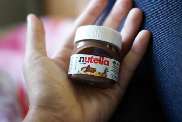 Miniature Nutella Jar