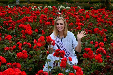 Meath Elysha Brennan the 2015 Rose of Tralee pictu