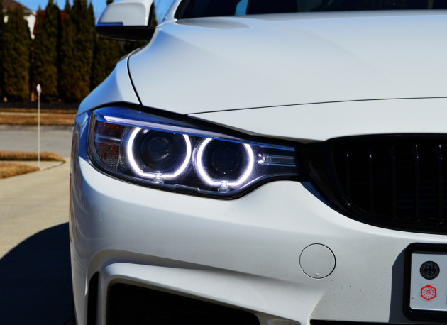 BMW 435i M Sport (F32) headlight