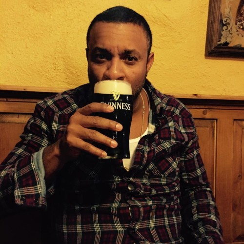 Ain't nothing like having a pint in Ireland! The Guinness taste totally different here! #better!!!