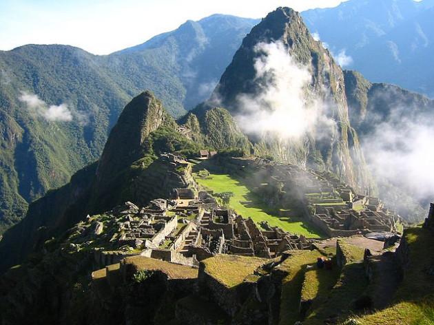 094 Day 6 - Macchu Picchu and clouds
