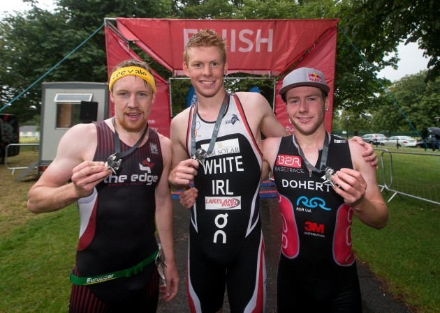 Chris Mintern, Russell White and Constantine Doherty