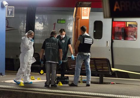 France Train Attack