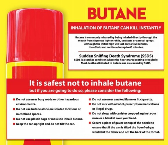 Deeply worrying' increase in people huffing butane in Dublin
