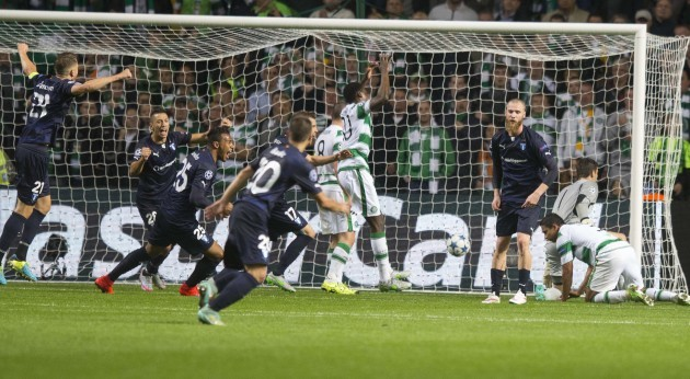Soccer - UEFA Champions League - Qualifying - Play-off - Celtic v Malmo FF - Celtic Park