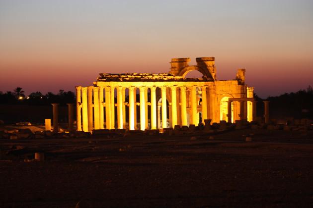 28. Palmyra - Temple of Baal Shamin