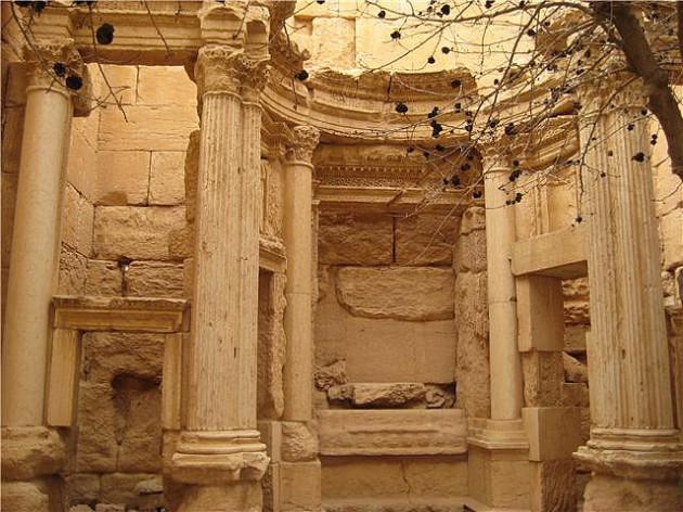 Cella del templo de Baal Shamin Palmira (Siria)