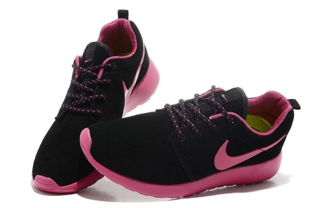 Nike-Roshe-run-womens-trainers-sneaker-dark-black-red_5