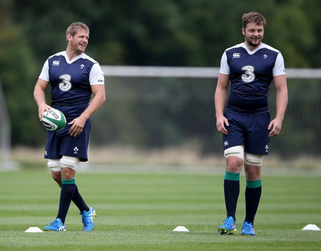 Chris Henry and Iain Henderson