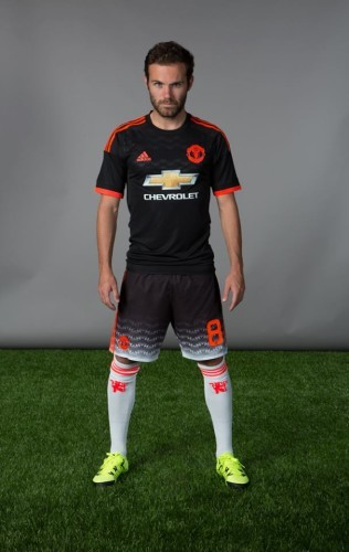 8e13d7374 What s the story with the shorts from Man United s new Champions League kit