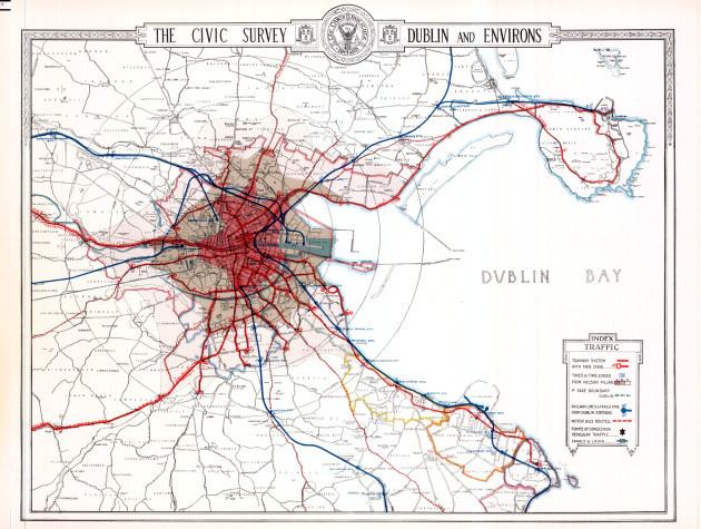 Dublin's tram system