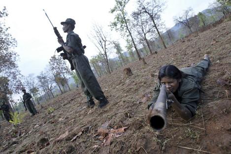 India Rebel Attack