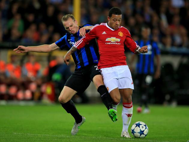 Soccer - UEFA Champions League - Qualifying - Play-off - Club Brugge v Manchester United - Jan Breydel Stadion