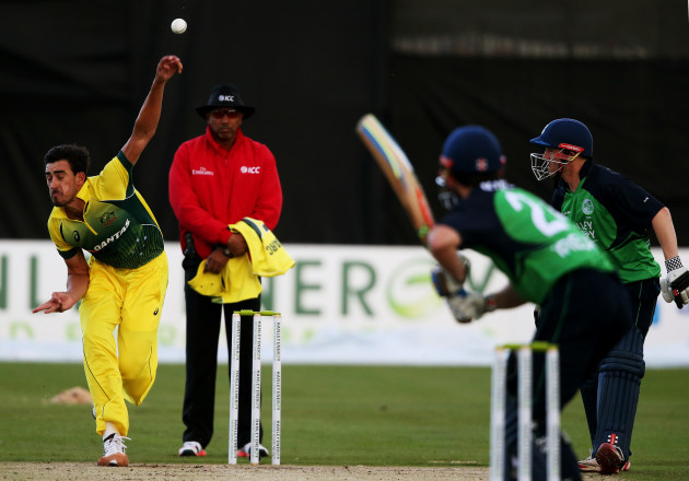 Cricket - One Day International - Ireland v Australia - Civil Service Cricket Club