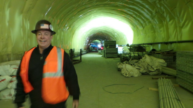 Richard T. Fitzsimmons Business Manager at Local Union 147 in the tunnels of East Side Access, NYC
