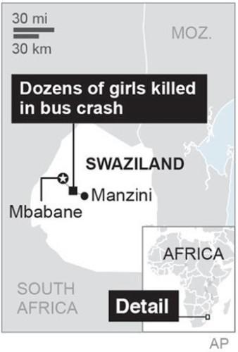 SWAZILAND CRASH