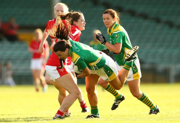 Marie Ambrose tackles Caroline Kelly