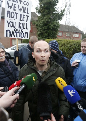 File Photo ANTI AUSTERITY ALLIANCE TD Paul Murphy has said he wasnt aware he was due to be charged in connection with the Jobstown anti water charges protest before it was leaked to the media last night. RTE News reported last night that20 people, inclu