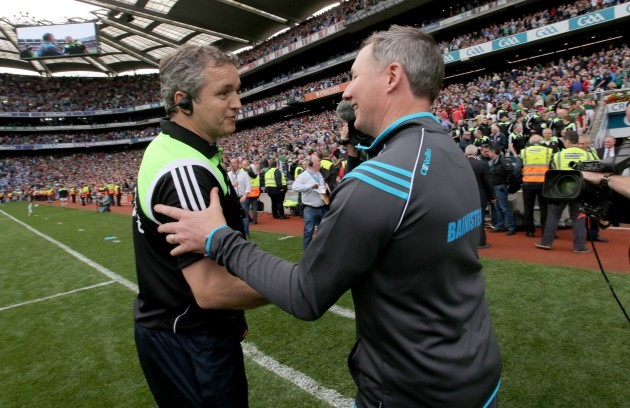 Jim Gavin with Noel Connelly