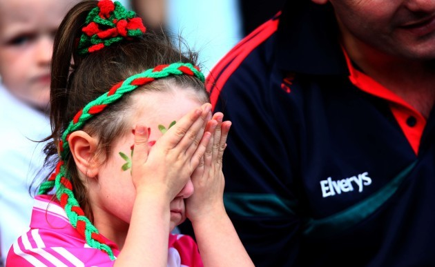 A Mayo supporter can barely watch