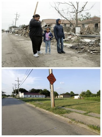 Katrina Then And Now Photo Gallery