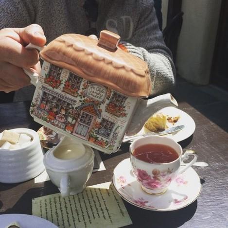 Tea Baltimore style #tea #cork #ireland #westcork