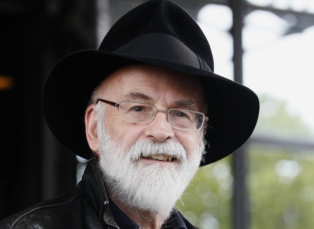 Britain Obit Pratchett