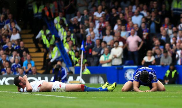Soccer - Barclays Premier League - Chelsea v Crystal Palace - Stamford Bridge