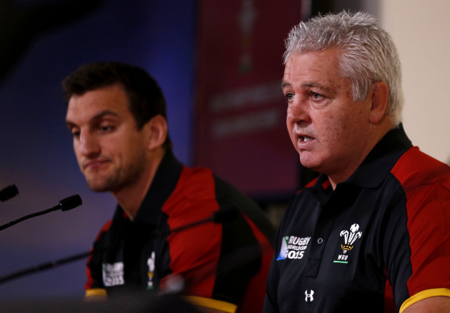 Rugby Union - Wales World Cup Squad Announcement - Millennium Stadium