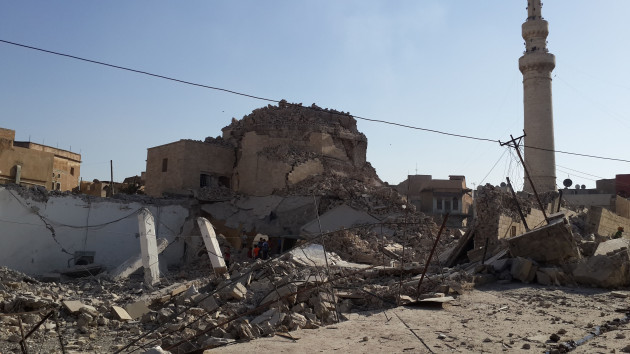 Islamic State-Destroying Heritage