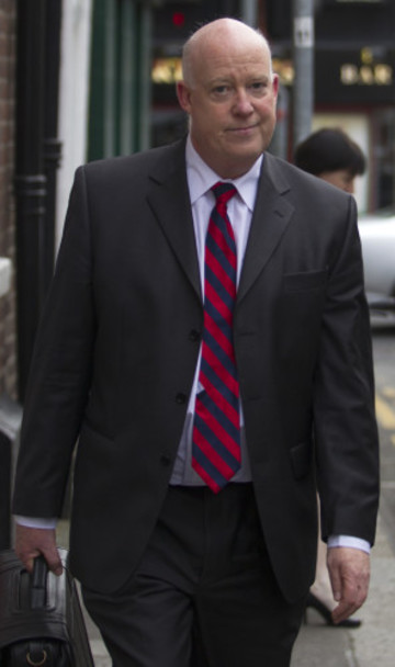 28/5/2014. Brian Purcell at Justice Committees