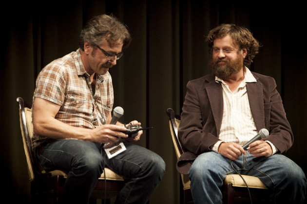 Marc Maron & Zach Galifianakis // Doug Loves Movies @ LA Pod Fest