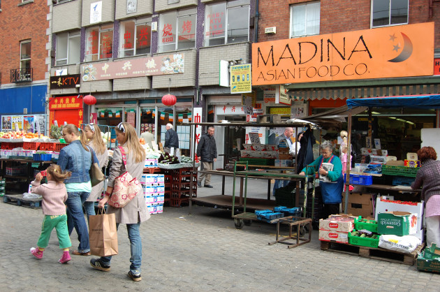 File photo: vote for Moore Street 'land swap' deal