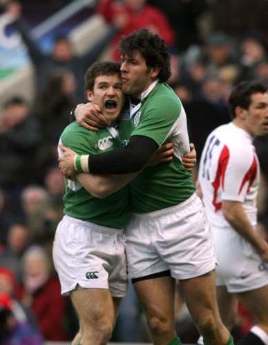 Gordon D'Arcy and Shane Horgan